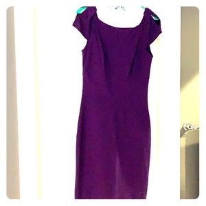 Beautiful DVF purple dress size 4